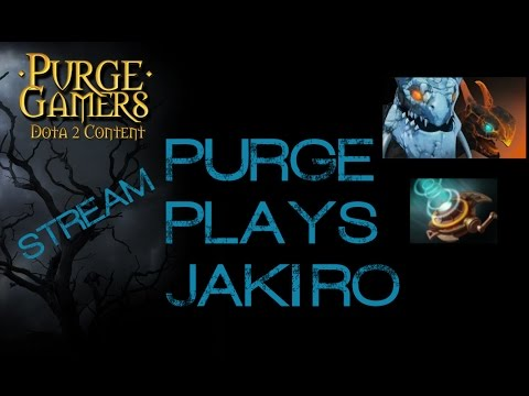 Dota 2 Purge plays Jakiro
