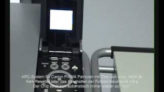 ARC Chip System fr Canon Pixma Patronen (Auto Reset Chip)