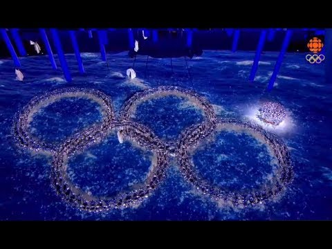 Sochi 2014 Winter Olympic Closing Ceremony (Russia Makes Fun Of Ring Fail)