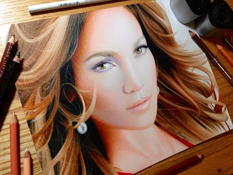 Drawing Jennifer Lopez