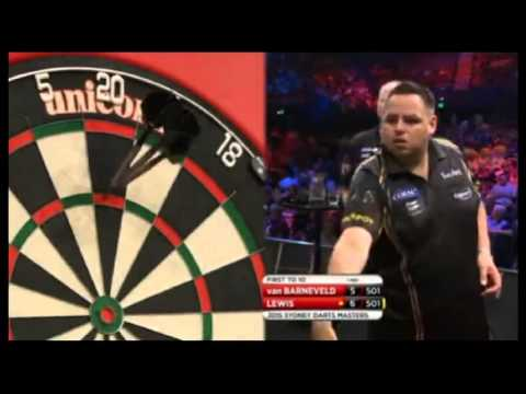 2015 Sydney Darts Masters Semi Final van Barneveld vs Lewis