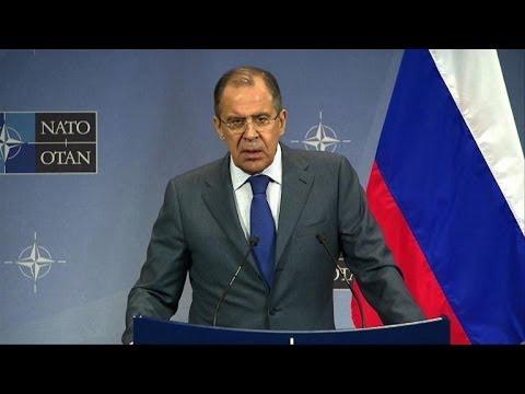 Russian FM raps NATO over Ukraine protest comments