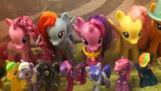 Моя коллекция пони 2015 (My Little Pony)
