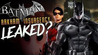 Batman Arkham Insurgency LEAKED? NEW Batman Game Court of Owls?!