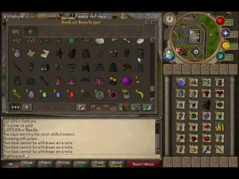 Runescape NightmareRH's Full Bank Vid 1.6Bil + Updates