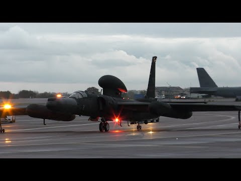U-2 - Muscat 01 Mission - Dragon86 Arrival - Fairford - 06/11/19