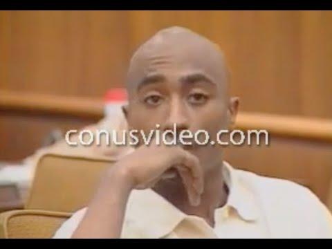 Tupac Shakur Rare Court Footage