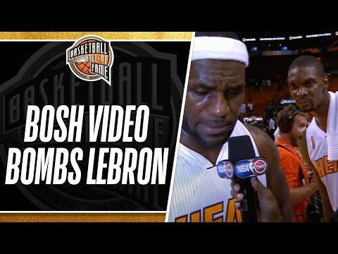 Chris Bosh Video Bombs LeBron