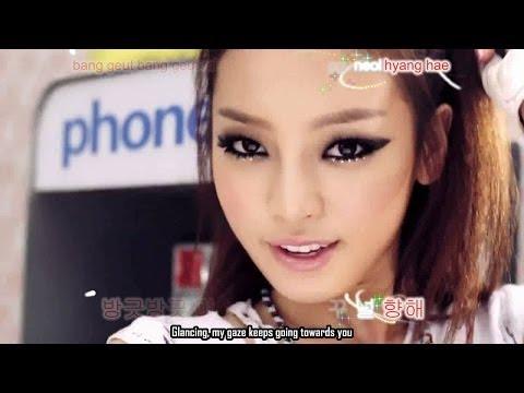 [hd] Kara (카라) - Mister (미스터) [korean Ver] - Hangul, Romanized, Eng video