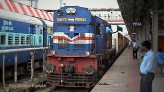 HI-Tech GORAKHPUR to BANDRA TERMINUS Antyodaya Express via Naugarh departs from Gorakhpur Jn!