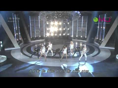 4minute   I My  Me Mine   Live Ver Japan video