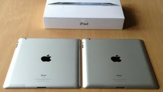 iPad 3 Vs iPad 2 Comparison