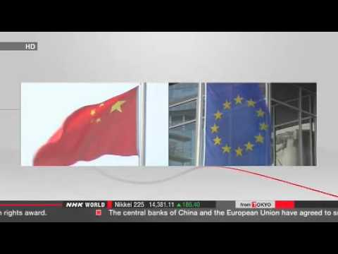 China, EU agree to swap currencies