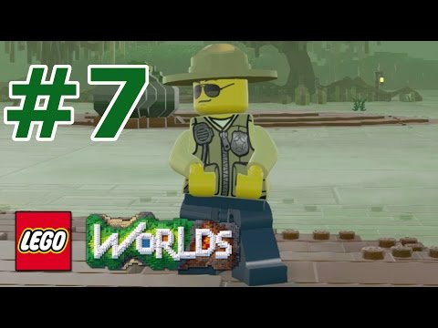 LEGO Worlds: Story Mode Walkthrough: Part 7 - Swamp Police Officer