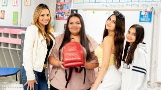 SURPRISING A FAN WITH A GUCCI BACKPACK