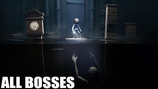 Little Nightmares DLC - All Bosses (With Cutscenes) HD 1080p60 PC