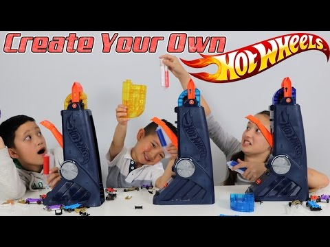 Create Customize And Race Your Own Vehicles With The Hot Wheels Fusion Factory! Ckn Toys Unboxing