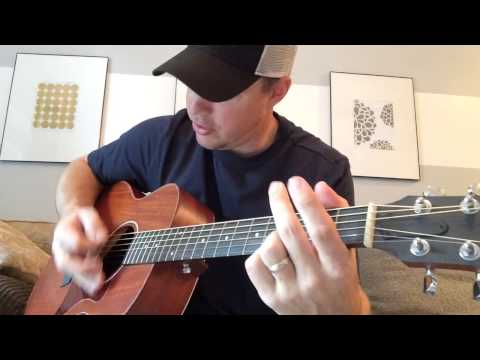 Live Like You Were Dying - Tim McGraw (Beginner Guitar Lesson)