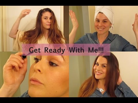 Get Ready With Me!! First time