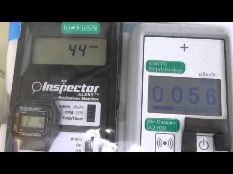 Fukushima Nuclear Accident 東京・銀座線の放射線測定20120204
