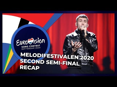 Melodifestivalen 2020 (Sweden) | Second Semi-Final | RECAP