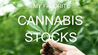 My Favorite Cannabis Stocks in Today's Stock Market | ThinkorSwim| TOS Trading Lesson