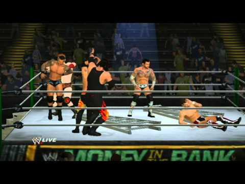 WWE 13 (Wii) WWE Ladder Match Money In The Bank 2013