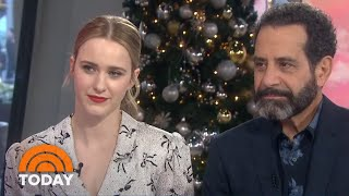 'Mrs. Maisel' Stars Rachel Brosnahan, Tony Shalhoub Talk Season 3 | TODAY
