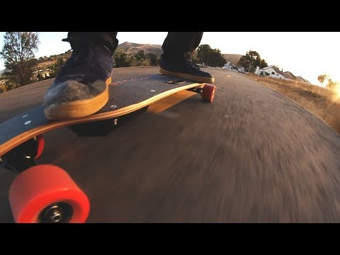 WowGo Electric Longboard Review - Hill Climb Challenge
