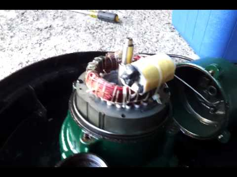 Zoeller Bn152 Bn 152 Sewage Pump Failure With Blown