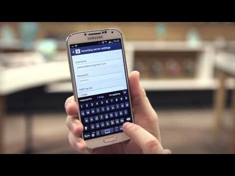 EE -- Samsung Galaxy S4 -- How to set up email