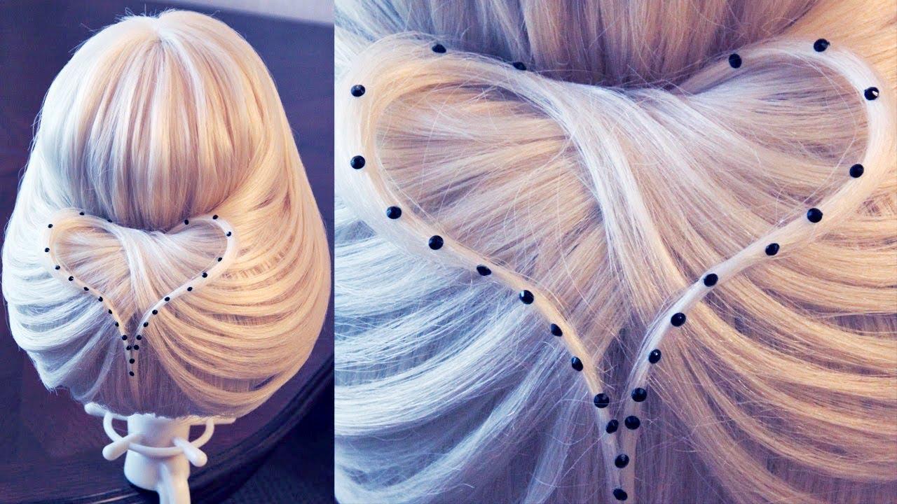 194Прически при помощи сеточками для волос