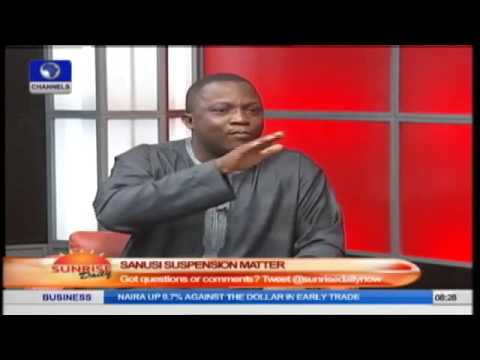 Sunrise Daily: John Oloyede Speaks On The Security Situation In Nigeria PT3