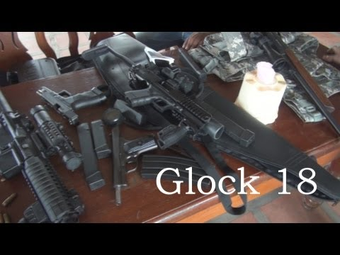 Glock 18 & Glock 17 with KPOS conversion kit