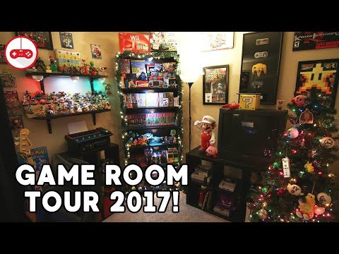 Game Room Tour! (Christmas 2017)