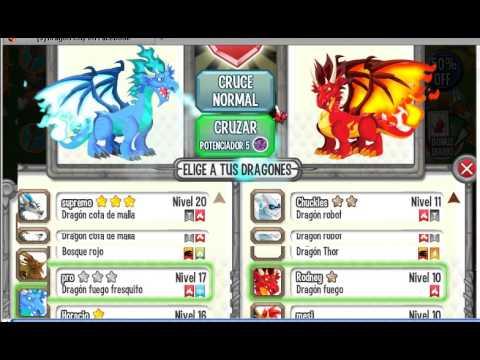 dragon city como aparear el dragon fresquito y futbolista