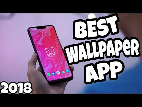 Top 5 wallpaper apps for android - 2018!