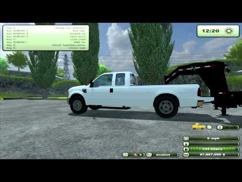 Farming Simulator 2013 Mod Review 2010 Ford F 350 V2 0 (EN)