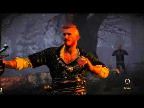 Ведьмак 3: Дикая Охота, против Ольгерда