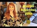 Scorpio November 2013 Astrology Horoscope