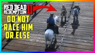 DO NOT Race Your Horse Against This Guy In Red Dead Redemption 2 Or Else This Will Happen To You!