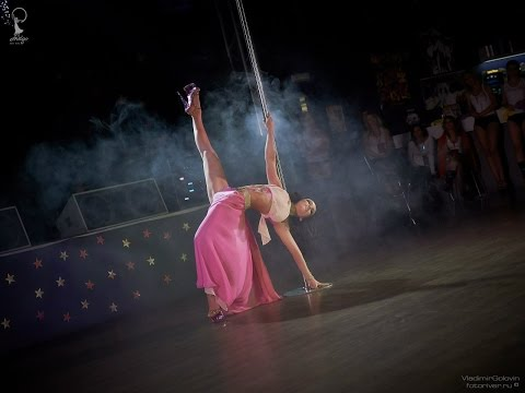Anastasiya Romantsova, 2nd place Professionals, Siberian Exotic Pole Dance Championship, 21.02.15