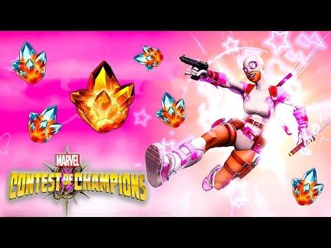MARVEL: Битва чемпионов - #18 | Новый персонаж и Открытие кристаллов