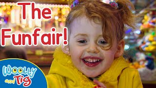 Woolly and Tig - The Funfair | S1 • EP10 | Full Episode | Kids TV Show | Toy Spider