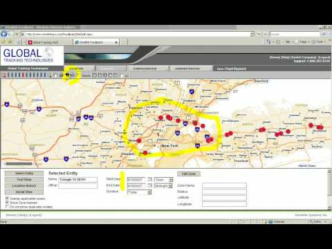 GPS Tracking Software Demo 2 - Measuring Different Points