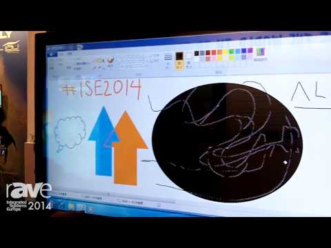 ISE 2014: Galneo Shows Interactive 4K Screen Display