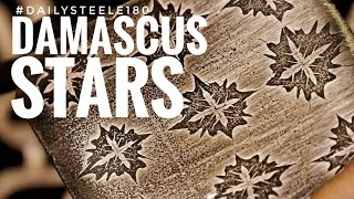 DAMASCUS STEEL STARS!!!