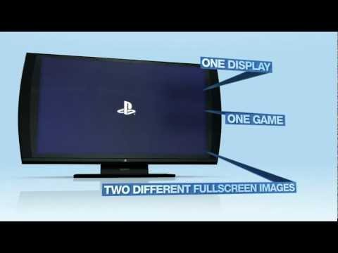 Sony PlayStation 3D TV Display Commercial