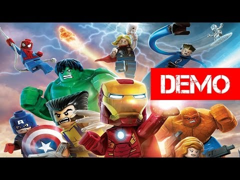 LEGO Marvel Super Heroes Demo Gameplay Walkthrough