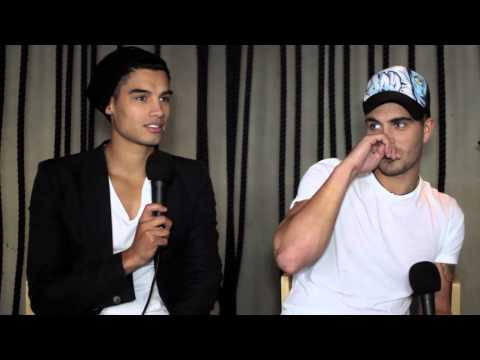 The Wanted talk about Touring Australia, Delta Goodrem & Being Licked! (Getmusic Interview